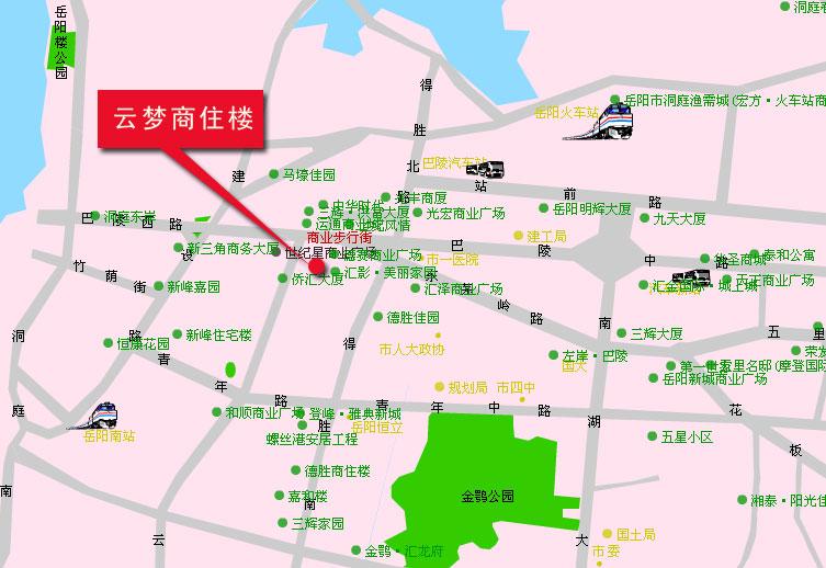 湖北省云梦县地图