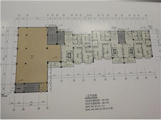 白杨坡路住宅户型图2-白杨坡路住宅小区图片 新房网 岳阳房地产信息网