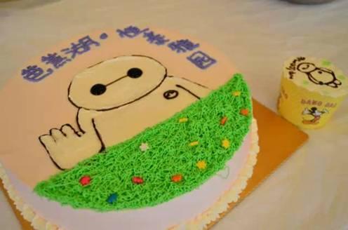 大白蛋糕,好想吃掉有木有!小编嘴馋的不行了.