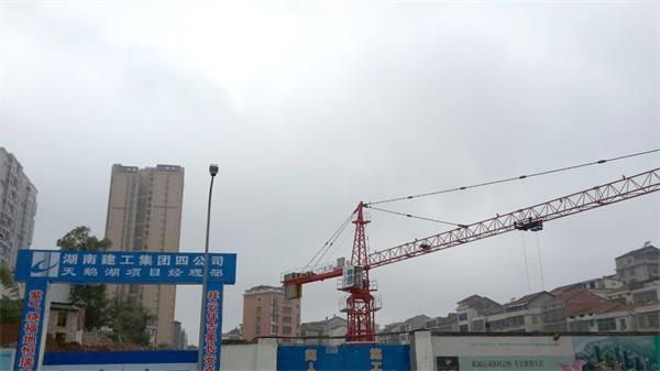 小编踩盘:塔吊进驻,兴瑞天鹅湖全面开工
